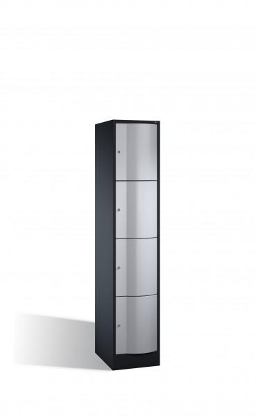 Schließfachschrank Resisto, 4 Fächer, 195x40x54cm
