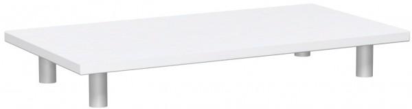 Aufsatzplatte, 80x40cm, Weiß