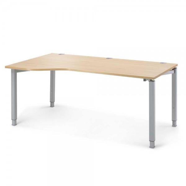 Schreibtisch Freiform CONCEPT MODUL 180x100/80x68-82 cm