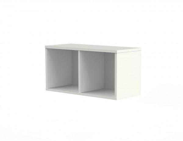 Wandregal Form 4 1 OH 100 x 40 x 36 cm Weiß