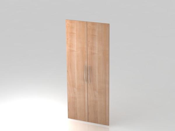 Paar Türen,5 OH, BM, Nussbaum