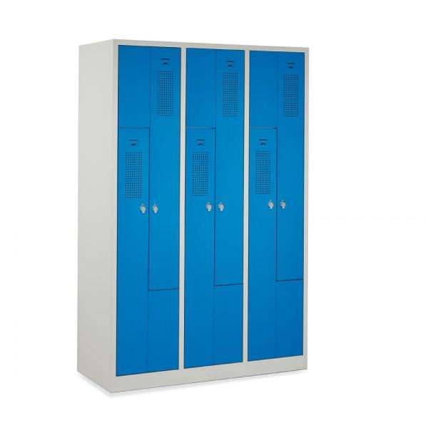 Garderoben-/Stahlspind Serie Z 118,5x180x50 cm