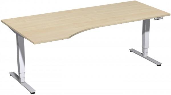 Elektro-Hubtisch links höhenverstellbar 200 x 100 cm