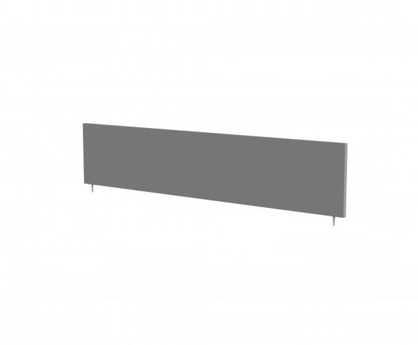 Tischtrennwand, 160x45cm, für Breiten 160/180cm, Graphit