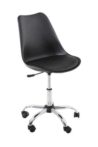 Bürostuhl Pegleg, schwarz