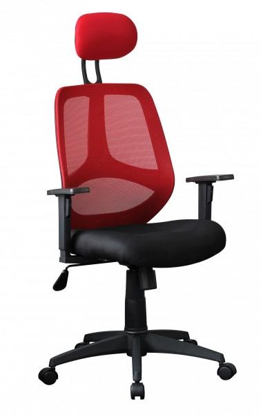 FLORENZ Bürostuhl Schreibtischstuhl, Rot