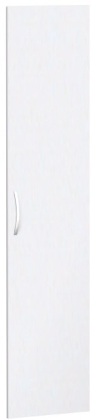 Flügeltür für Korpusbreite 40 cm, 5 OH, Weiß