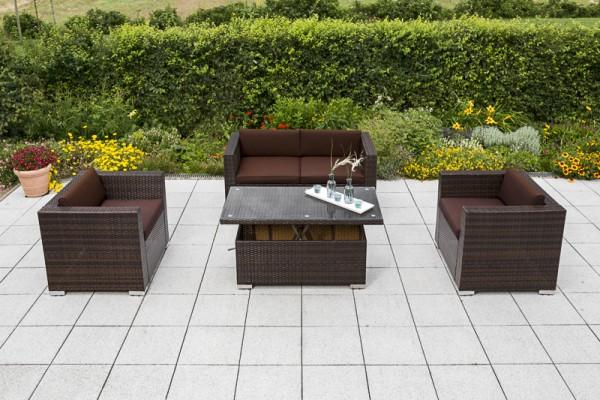 Bari Lounge Set, 2 Sessel, 1 Bank, 3 Sitzig, Inkl.