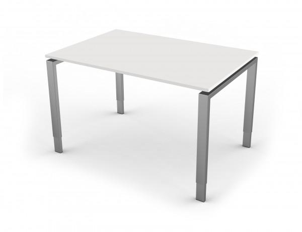 Schreibtisch mit 4-Bein-Gestell 120 x 80 cm