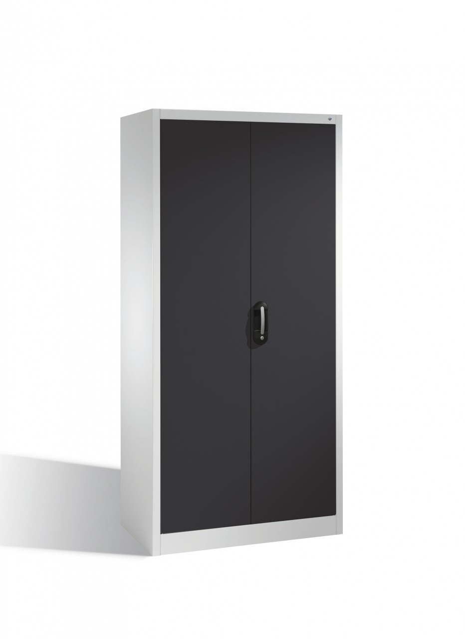 Akten-Garderobenschrank Acurado mit Drehtüren, H1950xB93x40cm