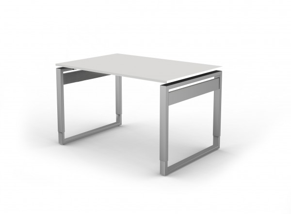 Schreibtisch O-Fuß 120 x 80 cm