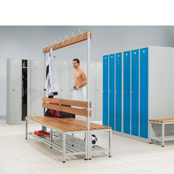 Sitz- und Garderobenbank 185x200x76 cm