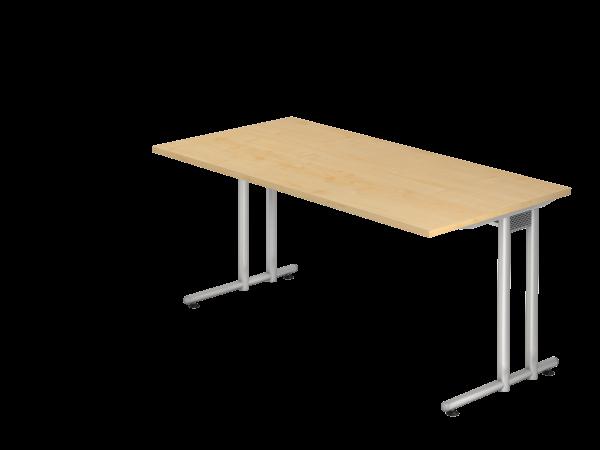 Schreibtisch C-Gestell 160 x 80 cm