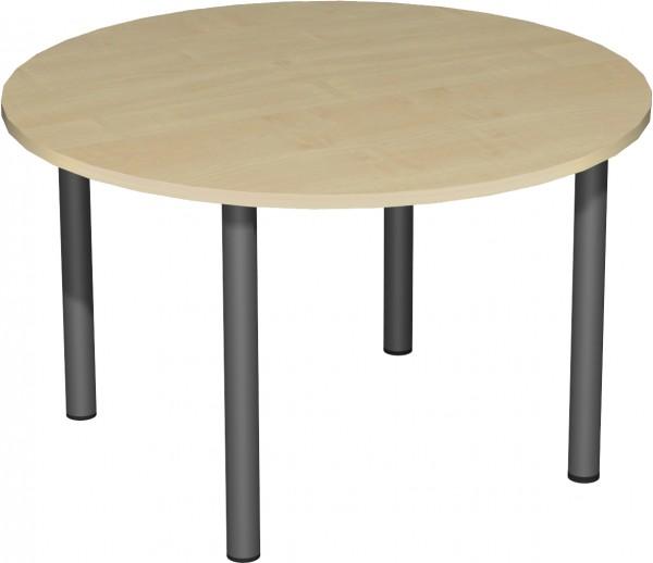 Konferenztisch Kreisform Durchmesser 120 cm x Höhe 72 cm