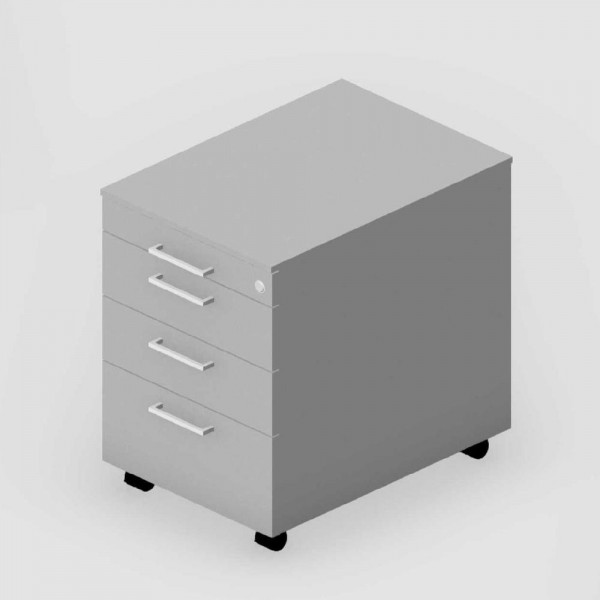 Rollcontainer EVO 43,2x61x57,5 cm