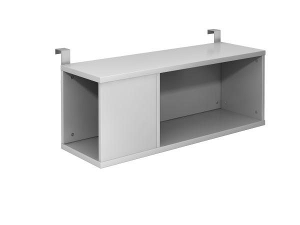 Einhängebox 100cm tief, Silber