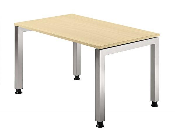 Schreibtisch U-Fuß eckig 120 x 80 cm