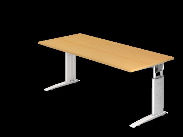 Schreibtisch C-Gestell 180 x 80 cm