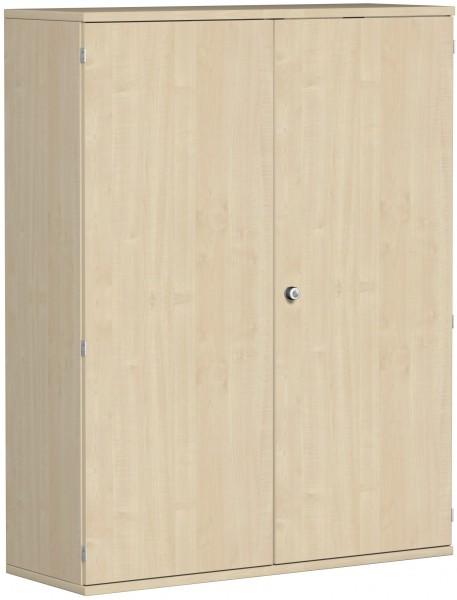 Garderobenschrank mit ausziehbarem Garderobenhalter, 120x42x154cm, Ahorn
