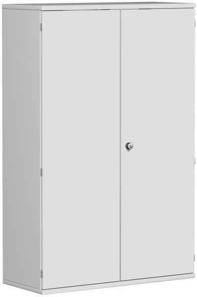 Garderobenschrank mit ausziehbarem Garderobenhalter, 100x42x154cm, Lichtgrau