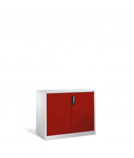 Akten-Sideboard Acurado mit Drehtüren, 2 Ordnerhöhen, 100x120x50cm