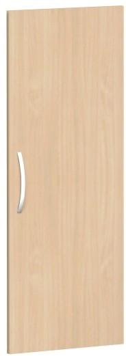 Flügeltür für Korpusbreite 40 cm, 3 OH, Buche