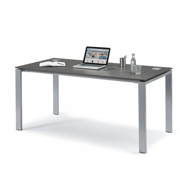 Schreibtisch 4-Fuß Basic EVO 200 x 80 x 73 cm