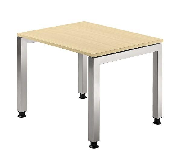 Schreibtisch U-Fuß eckig 80 x 80 cm