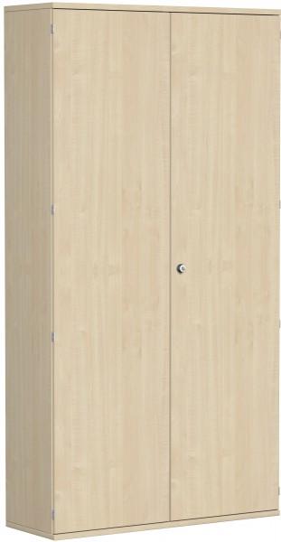 Garderobenschrank mit ausziehbarem Garderobenhalter, 120x42x230cm, Ahorn