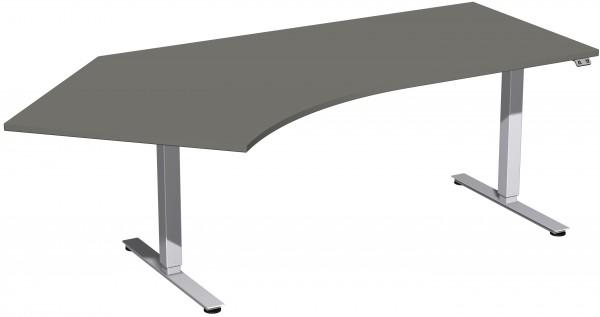Elektro-Hubtisch 135° links höhenverstellbar 216 x 113 cm