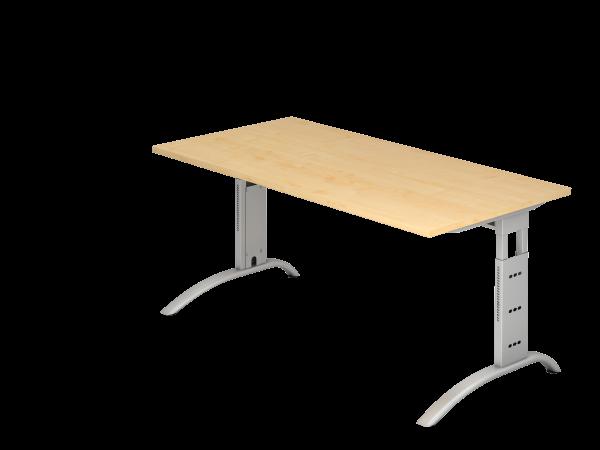 Schreibtisch C-Fuß 160 x 80 cm
