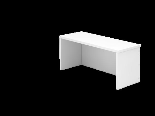 Thekenaufsatz 80cm, 1OH Weiß