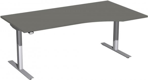 Elektro-Hubtisch rechts höhenverstellbar 180 x 100 cm