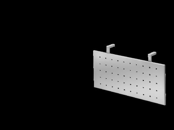 Sichtblende H=40cm 80cm, Silber