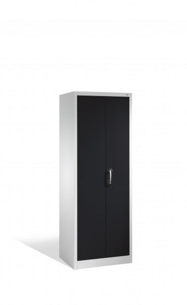 Aktenschrank Acurado mit Drehtüren, 5 Ordnerhöhen, 195x70x50cm