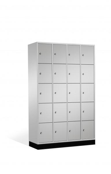 Schließfachschrank Intro, 20 Fächer, 195x122x50cm
