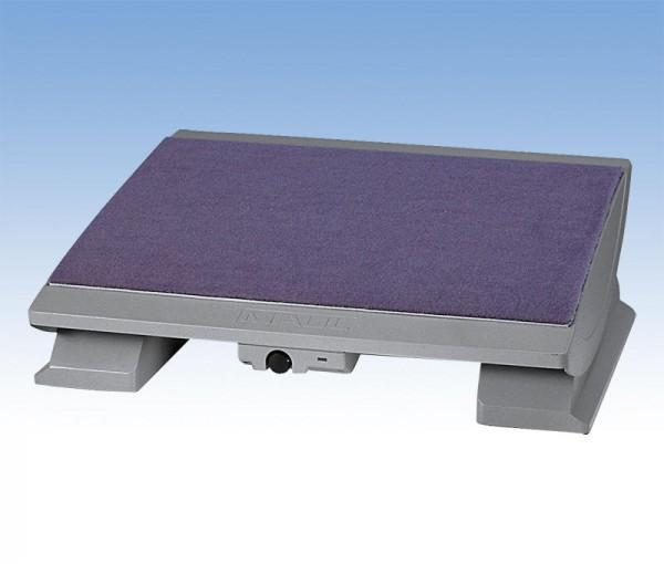 Fußstütze Serie 9022 mit Teppichoberfläche, Stellfläche B 45 x 39 cm