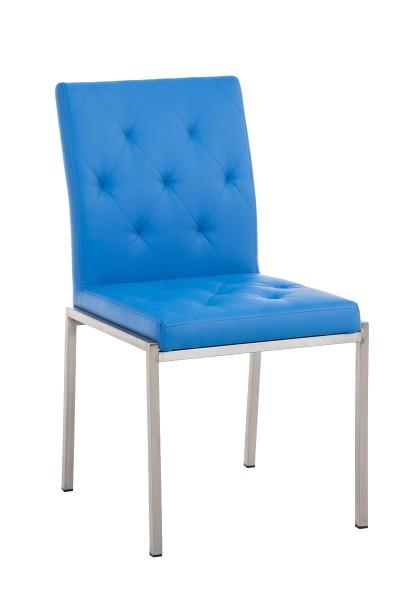Besucherstuhl Charly, blau