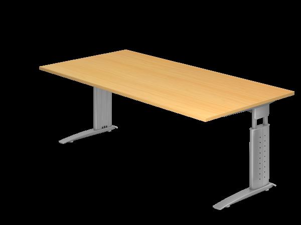 Schreibtisch C-Gestell 200 x 100 cm