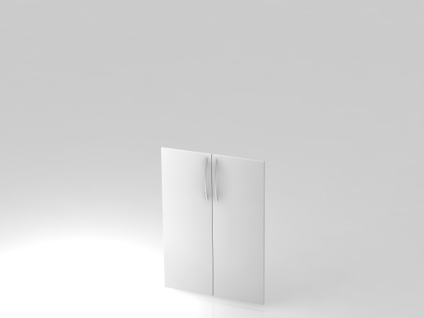 Paar Türen,3 OH, BM, Weiß