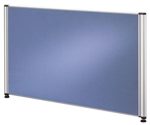Trennwand für Call-Center Tische, 80 cm, Blau