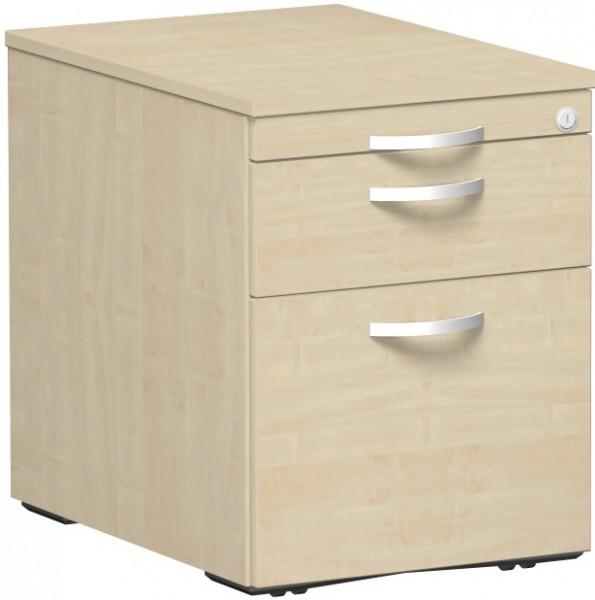 Rollcontainer Hängeregistratur 1 Kunststoff-Schubfach 60 x 43,8 x 56,5 cm