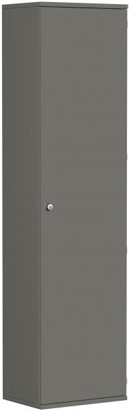 Garderobenschrank mit ausziehbarem Garderobenhalter, 60x42x230cm, Graphit