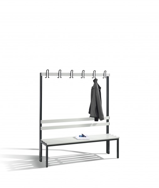 Garderobenbank Basic, 165x150x40cm