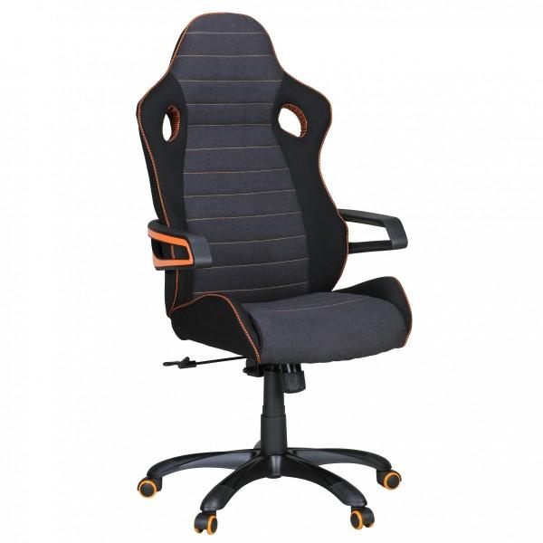 ALONSO Bürostuhl, Schreibtischstuhl, Chefsessel, Schwarz