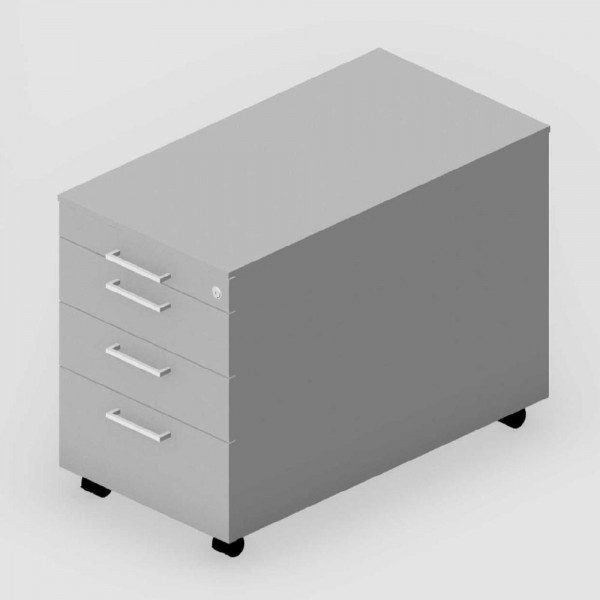 Rollcontainer EVO 43,2x61x80 cm