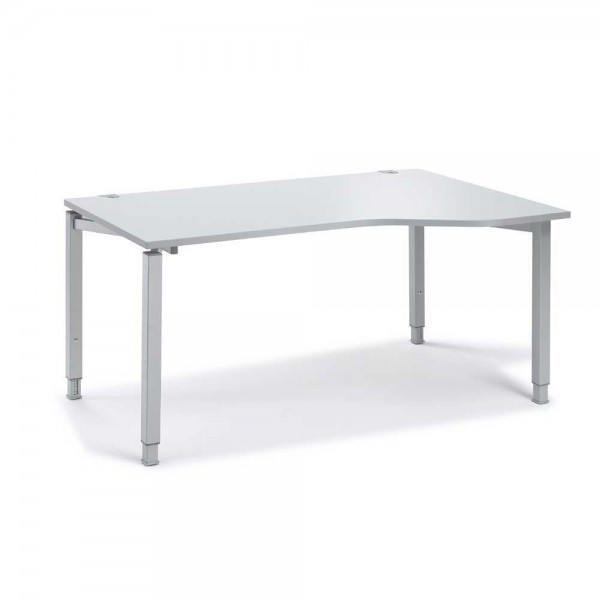 Schreibtisch Freiform CONCEPT MODUL 160x80/100x68-82 cm