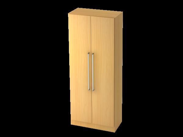 Garderobenschrank 5 Ordnerhöhen, CE Buche / Buche