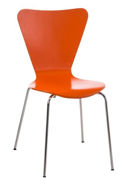 Besucherstuhl Calisto, orange