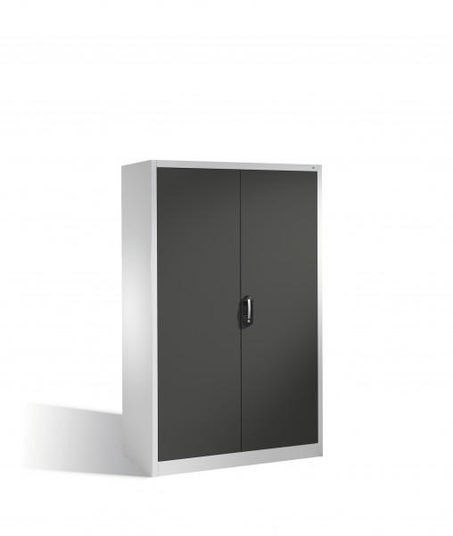 Aktenschrank Acurado mit Drehtüren, 5 Ordnerhöhen, 195x120x60cm